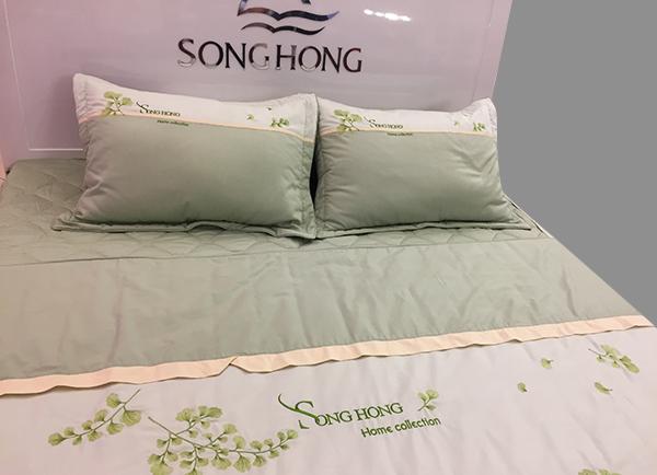 chăn ga gối Sông Hồng khách sạn